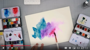 Youtube watercolor video